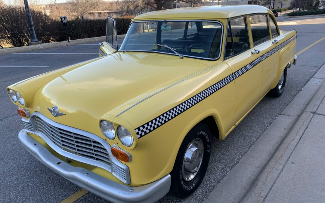 Checker Taxicab Clone on Bring A Trailer
