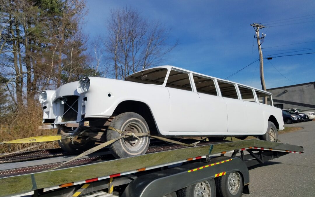 Aerobus Ready for Finishing For Sale by Haverhill, Mass. Company