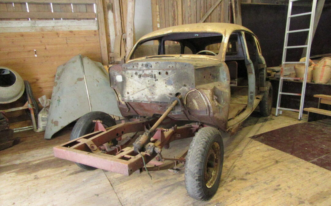 Another Rare Chicago Checker Cab Model A2 Undergoing Restoration