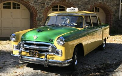1956 Checker Standard Taxi  Model A8 – Restored  $49,900 OBO (received by April 30th)