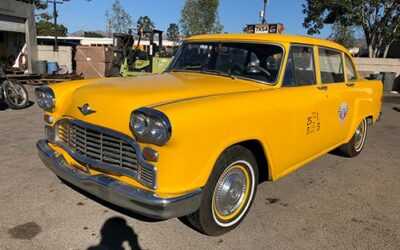 1965 Checker Taxicab Clone Available